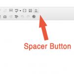 Spacer Button